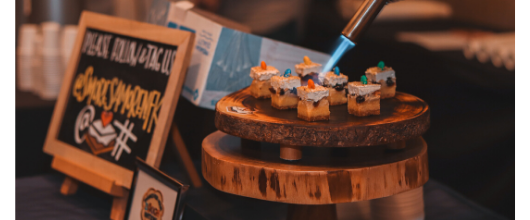 S'mores Amore at Samoa Soiree