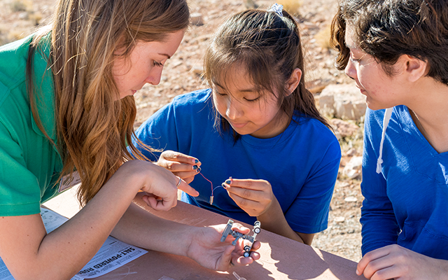 Catch up on all the awesome things Girl Scouts are doing today!