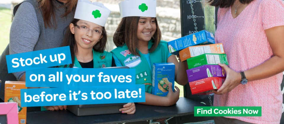Find Girl Scout Cookies Now!