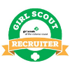 Girl Scout Recruiter Patch